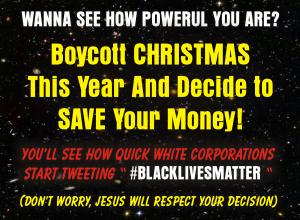 boycott christmas