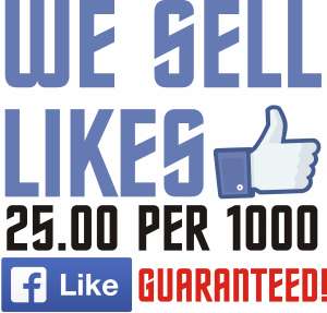 wE SELL LIKES